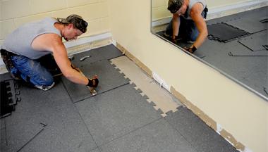 Indianapolis Rubber Floor Coating